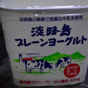 Regular, plain yogurt